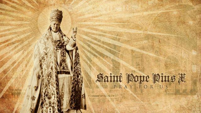 Saint Pope Pius X Wallpaper Computer Wallpaper Gallery Wallpaper Gallery Computer Wallpaper Pope Pius X