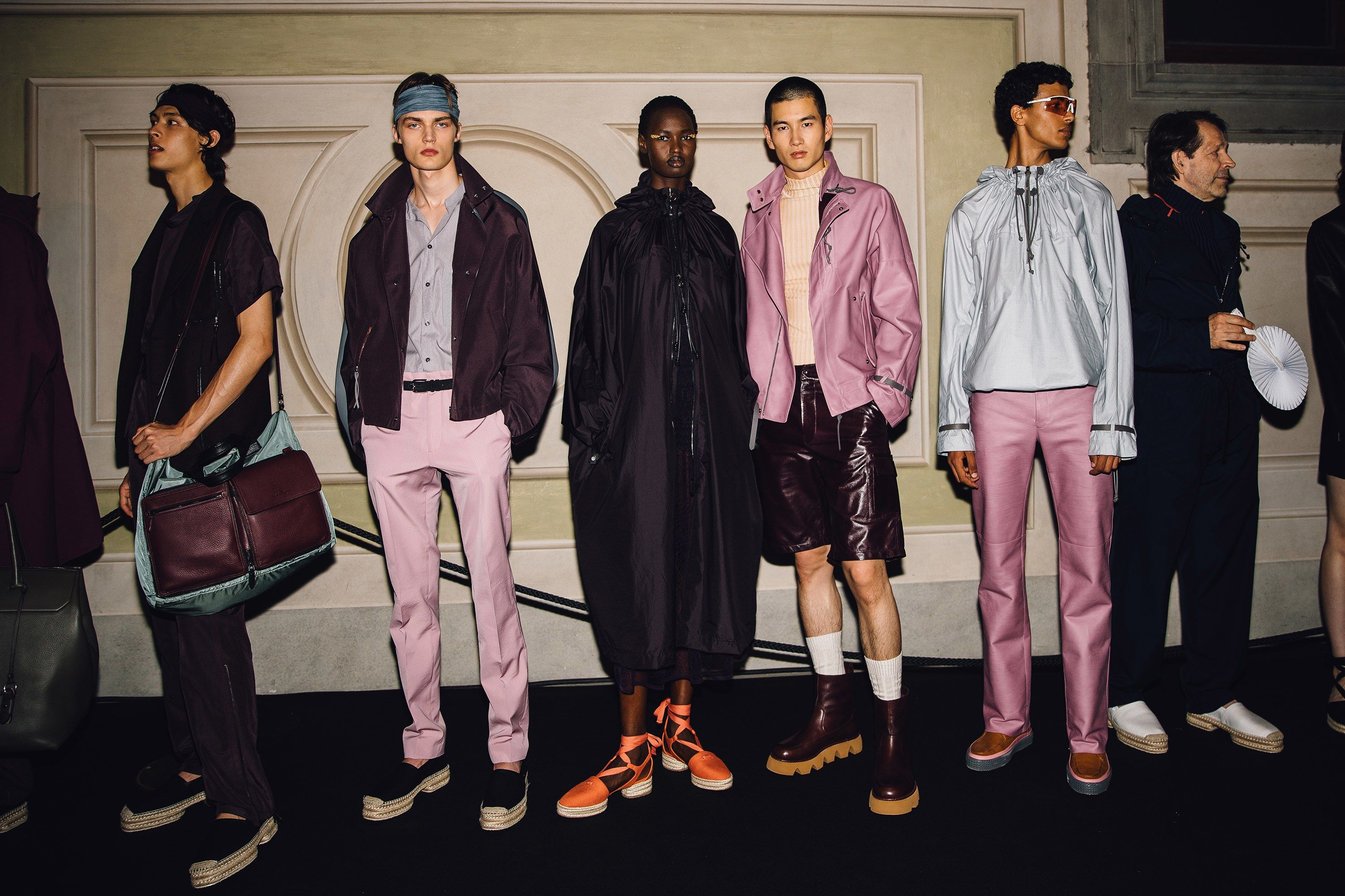 The Best Backstage From Pitti Uomo Spring 2020 Fashion