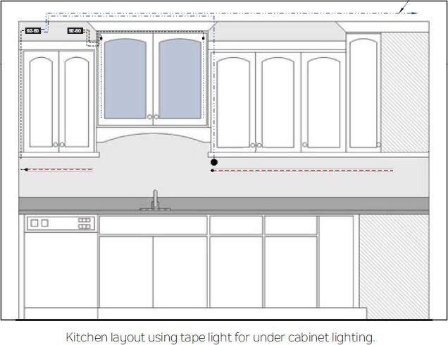 Kichler 12v Led Tape Light Installation Instructions For Dry Locations