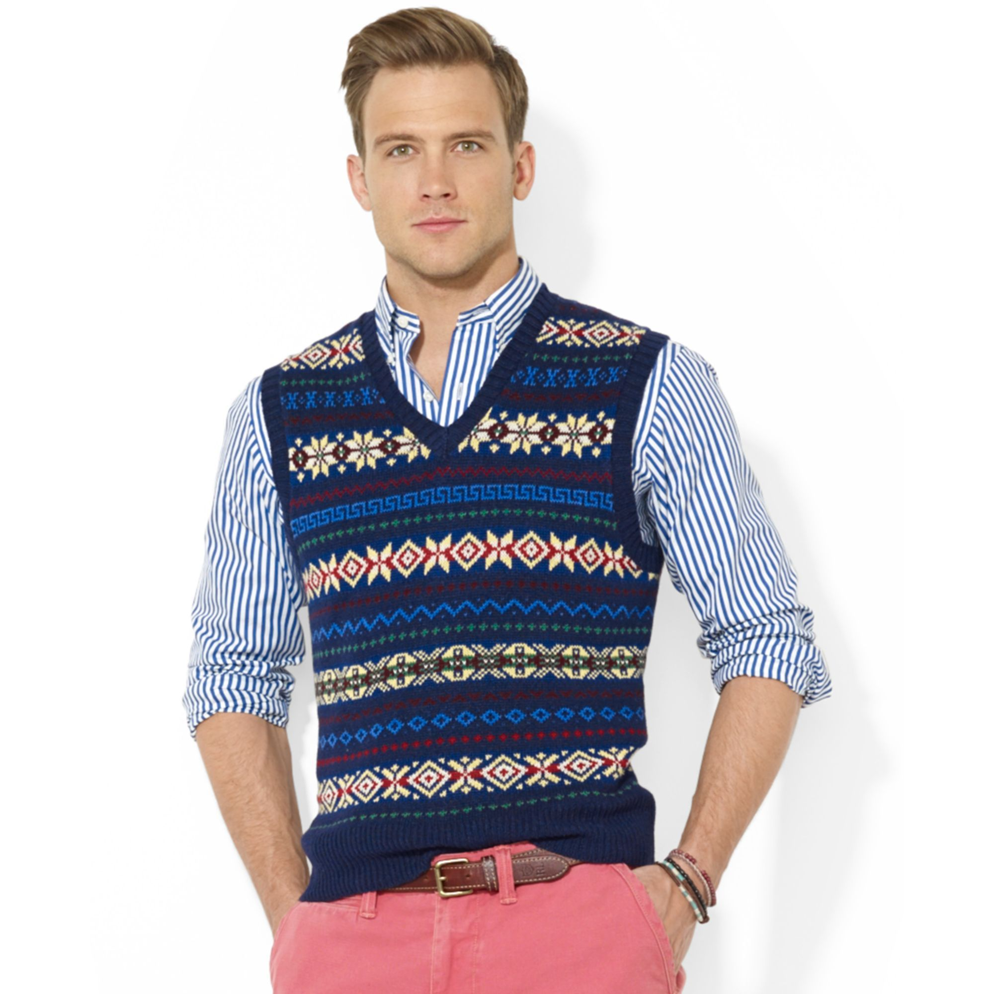 Image result for ralph lauren fair isle sweater | Knitting Design ...