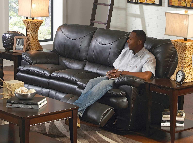 CatNapper Perez Power Reclining Sofa - Steel $1,199.00
