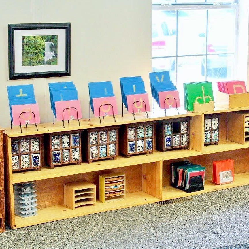 """77 Likes, 4 Comments - Mountaineer Montessori School (@mountaineermontessori) on Instagram: """"Lovely language materials greet young learners in Primary I. #read #reading #literacy #montessori…"""""""