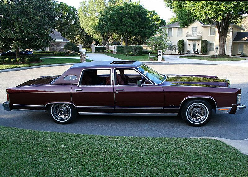 1979 Lincoln Towncar Mjc Classic Cars Pristine Classic Cars For