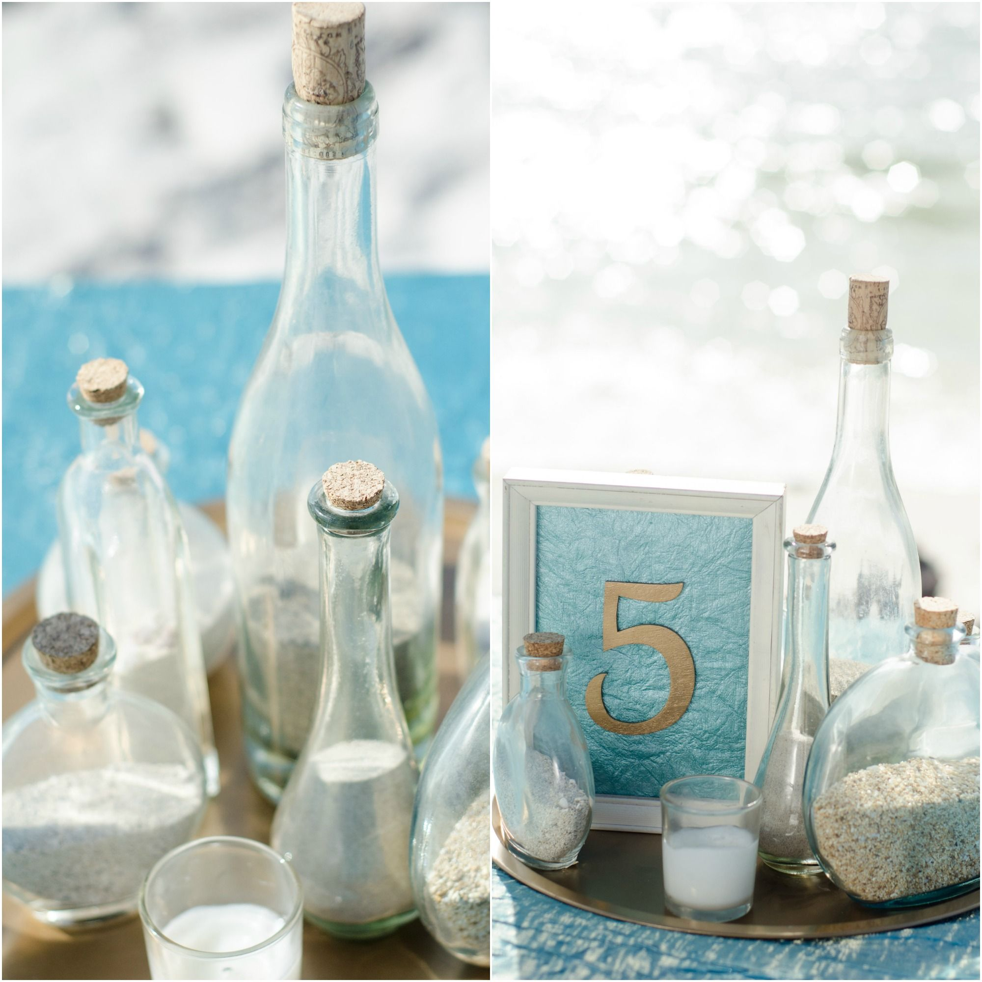 under $10! | Details to Inspire | Pinterest | Beach centerpieces