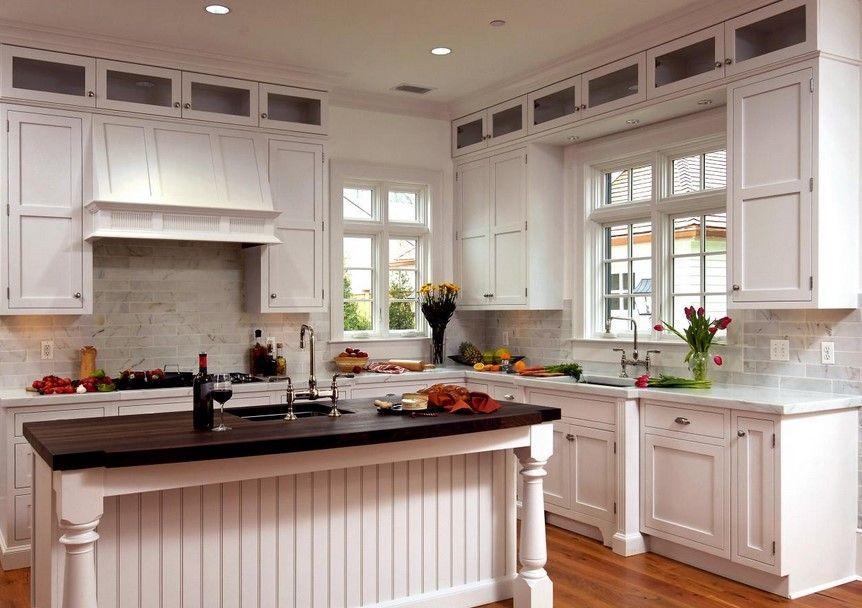 Wainscoting Styles Kitchen kitchen arquitecture Pinterest