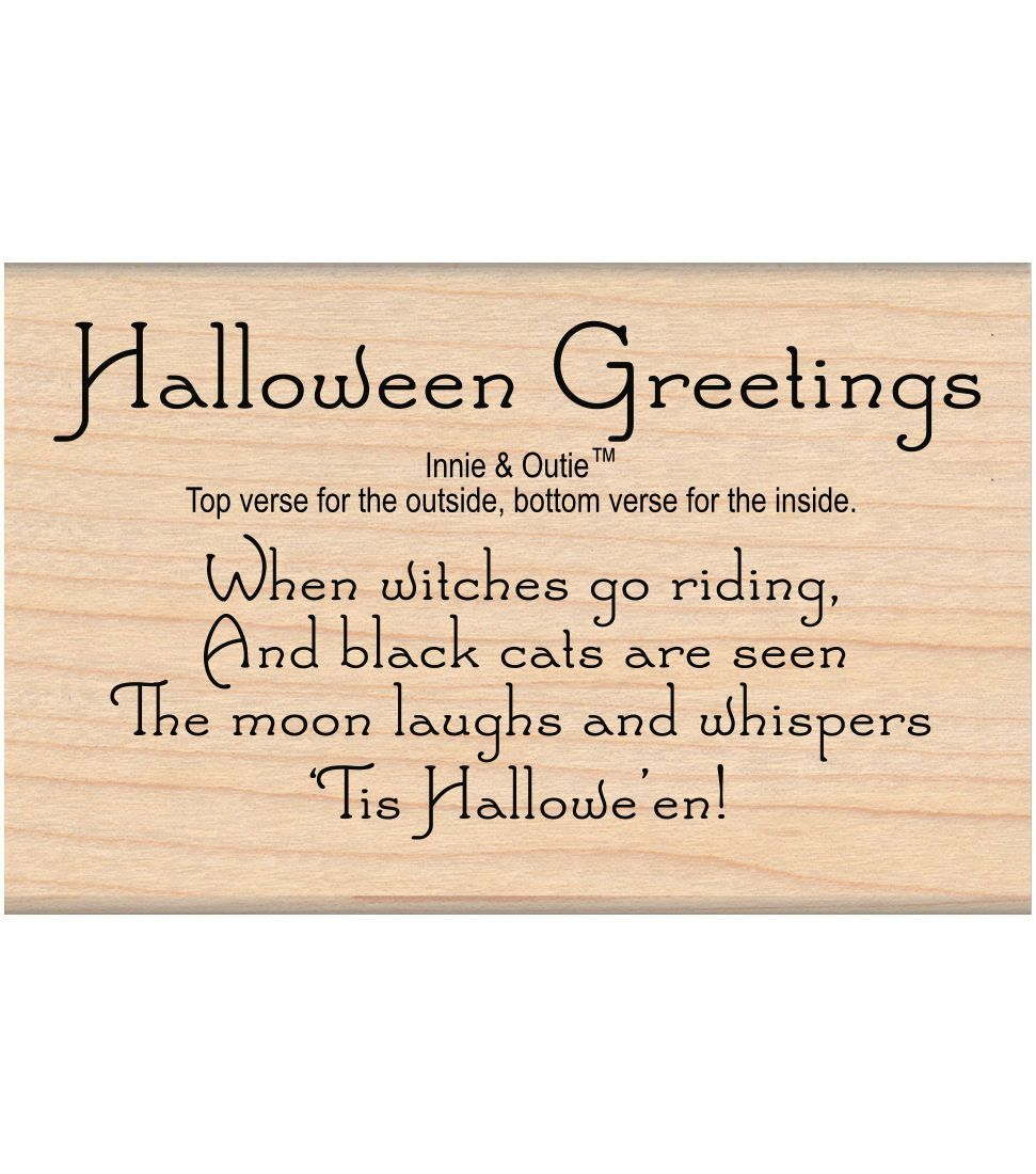 My sentiments exactly mounted stamp halloween greetings give cards and gifts a personalized touch with the my sentiments exactly mounted stamp halloween kristyandbryce Choice Image