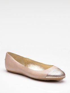 2de154f978e5 Jimmy Choo Whirl Glitter-Toe ballet flats
