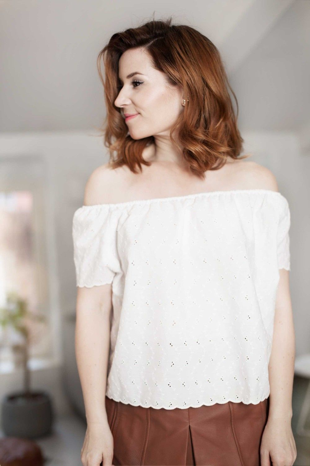 Pattern and tutorial for the off shoulder top — Note to self | Sew N ...