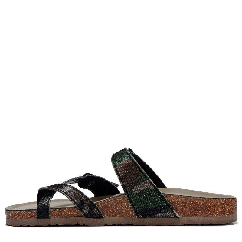 Madden Girl Women's Bryceee Footbed Sandals (Camo) - 9.0 M