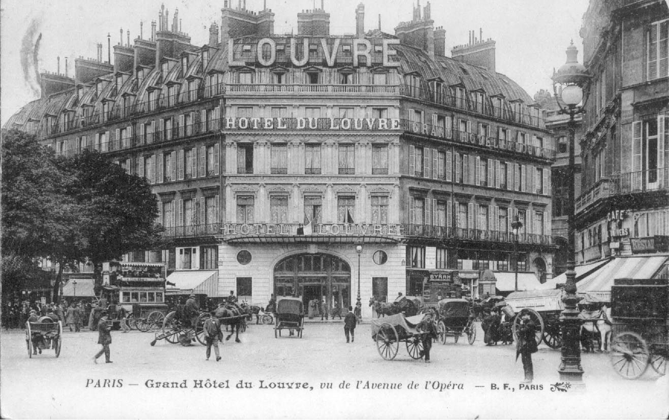 Hotel Du Louvre Built In 1855 And