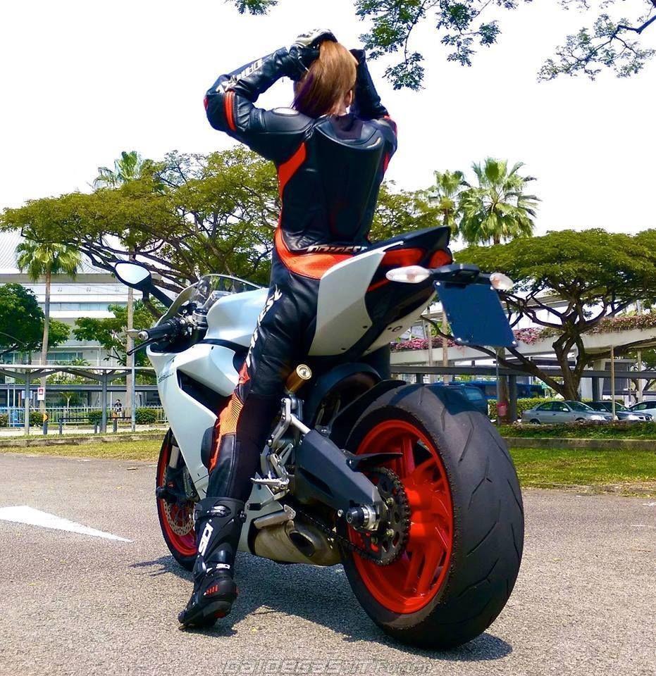 Girl on Ducati | Sportbike Girls | Pinterest | Ducati ...