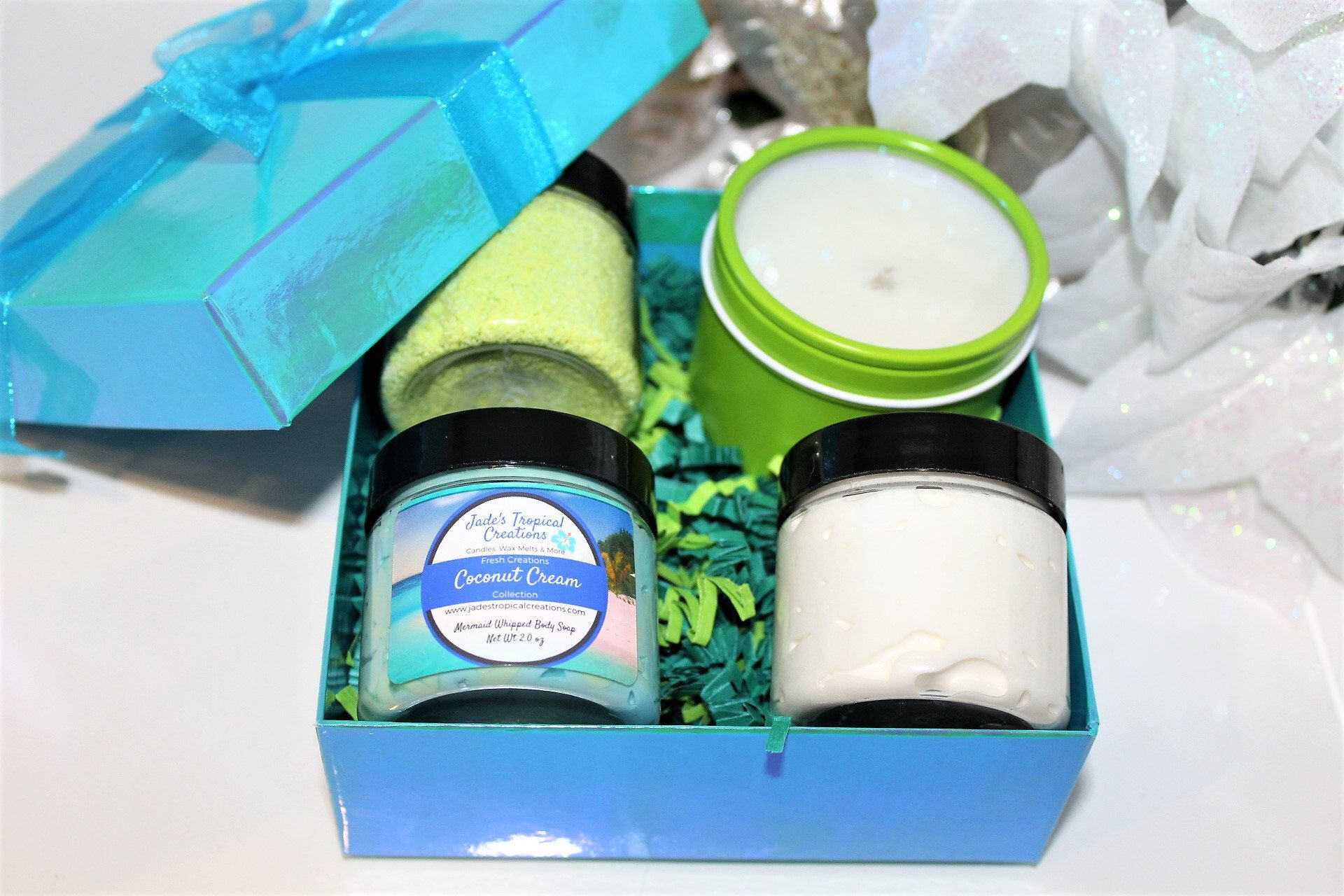 Mother's Day Spa Gift Box, Candle Gift Set, Bath and Body