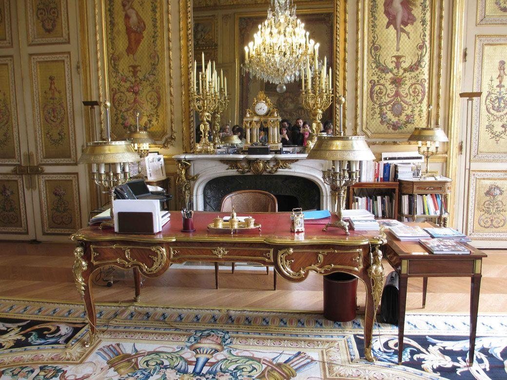 Visiter Le Palais De L Elysee Elysee Le Palais Salle De Fete