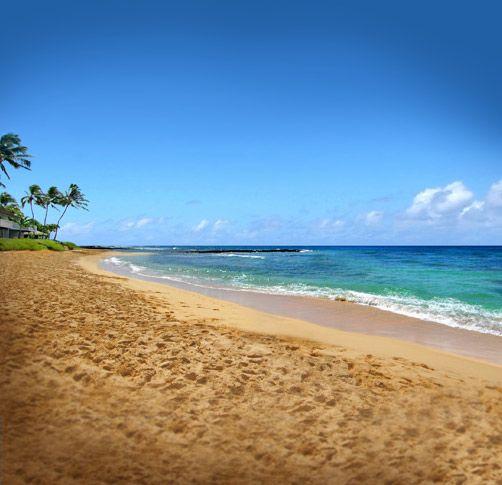 Kauai Beach: Beautiful Kiahuna Beach #Kauai #Hawaii #travel