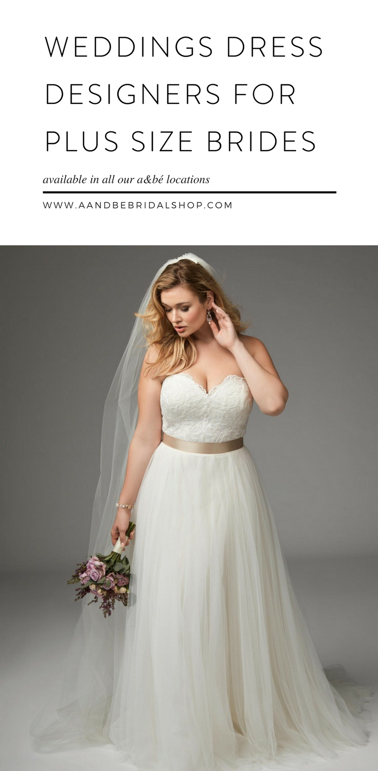 ba4a2a72d89 Bridal gown shopping is a little scary and intimidating for every bride and  that intimidation tends to get amplified when you re a plus size bride.