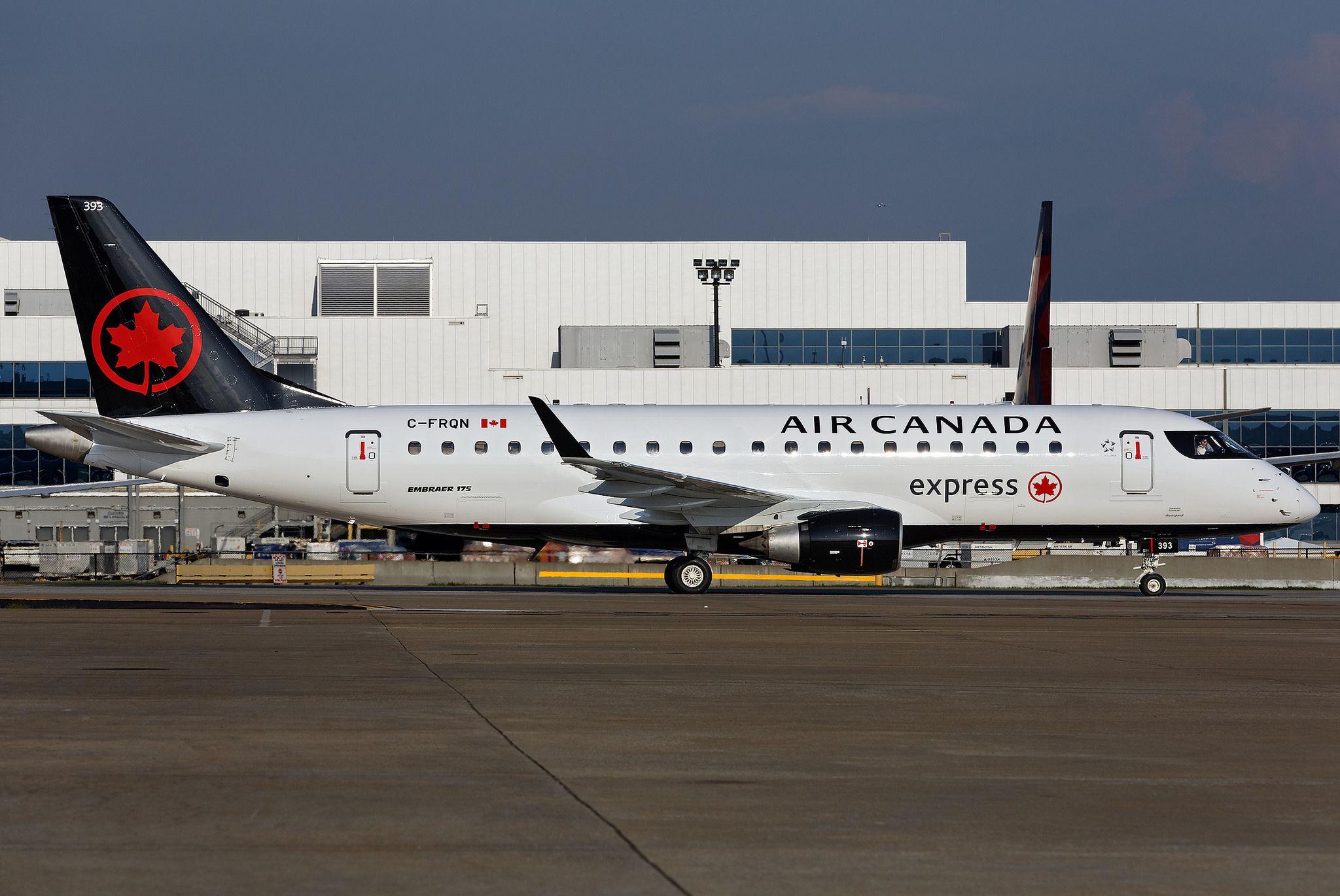 CFRQN Embraer ERJ175LR Air Canada Express KATL