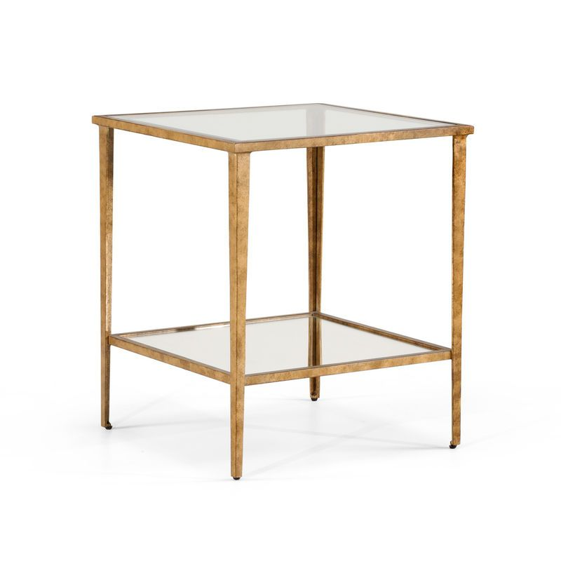 Chelsea House 22 X 22 X 25 High Chelsea House Gold End Table