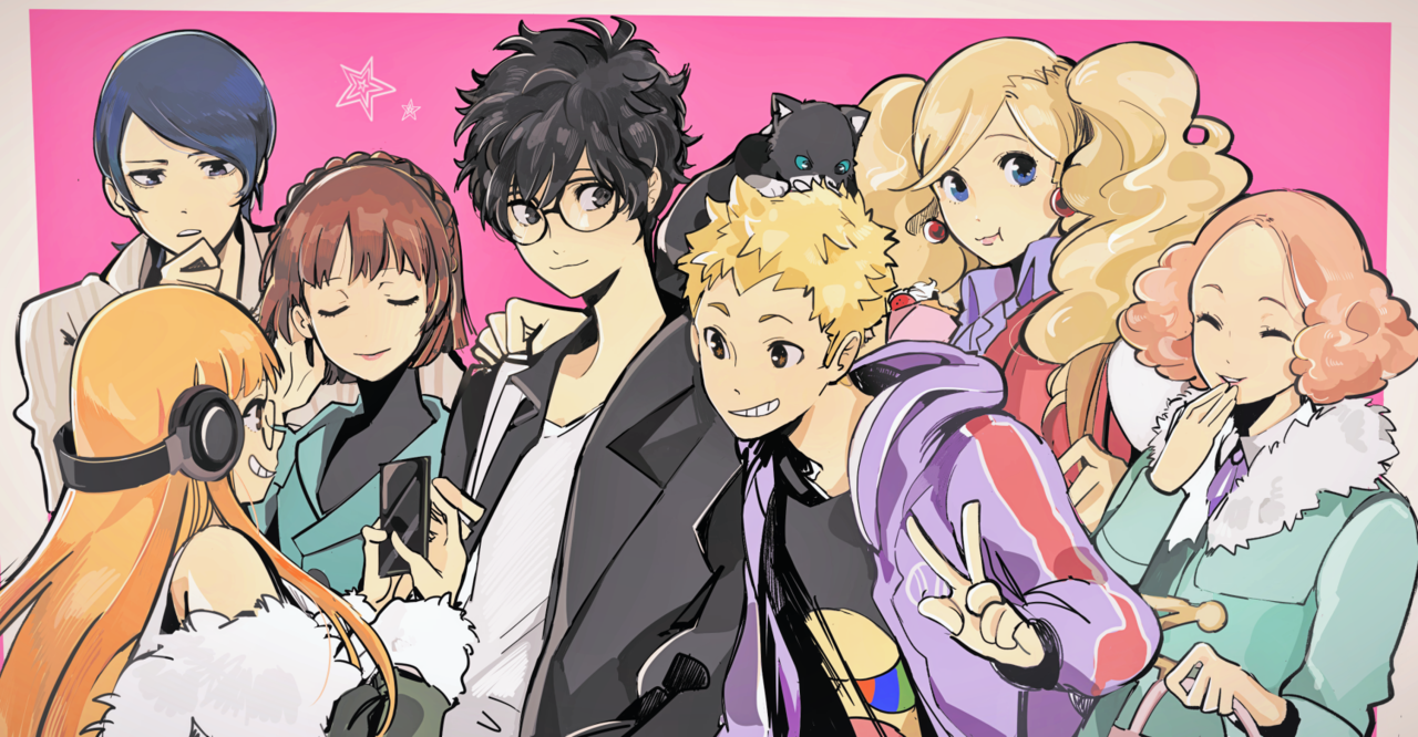 contraentryのartblog Group picture! Anime, Persona 5