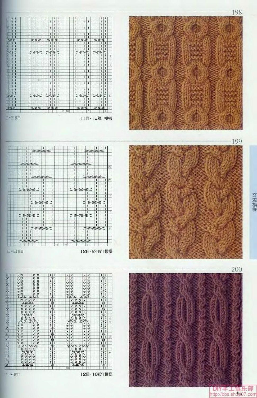 вязание спицы - схемы мотивы узоры - Самое интересное в блогах ...