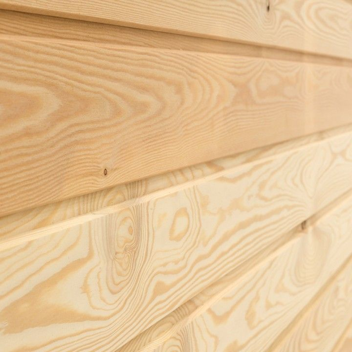 Silvalarch Siberian Larch Tongue Groove V Joint Cladding Tongue Groove Timber Cladding