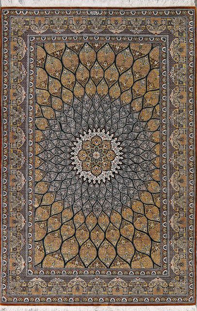 Qom Rugs Are Made In The Province Of Iran Around 100 Km