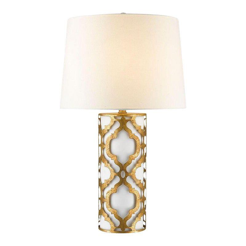 Contemporary Arabella Gold Table Lamp Gold Table Lamp Table Lamp Lamp