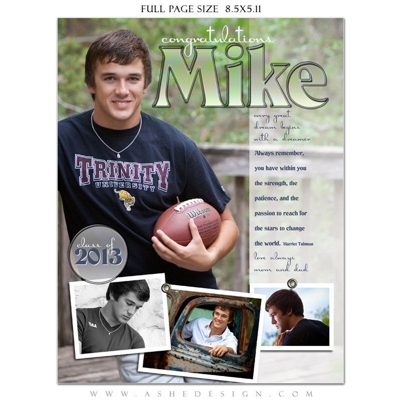 Senior yearbook ads photoshop templates hot shots by ashedesign yearbook ad pinterest for Yearbook ad templates free