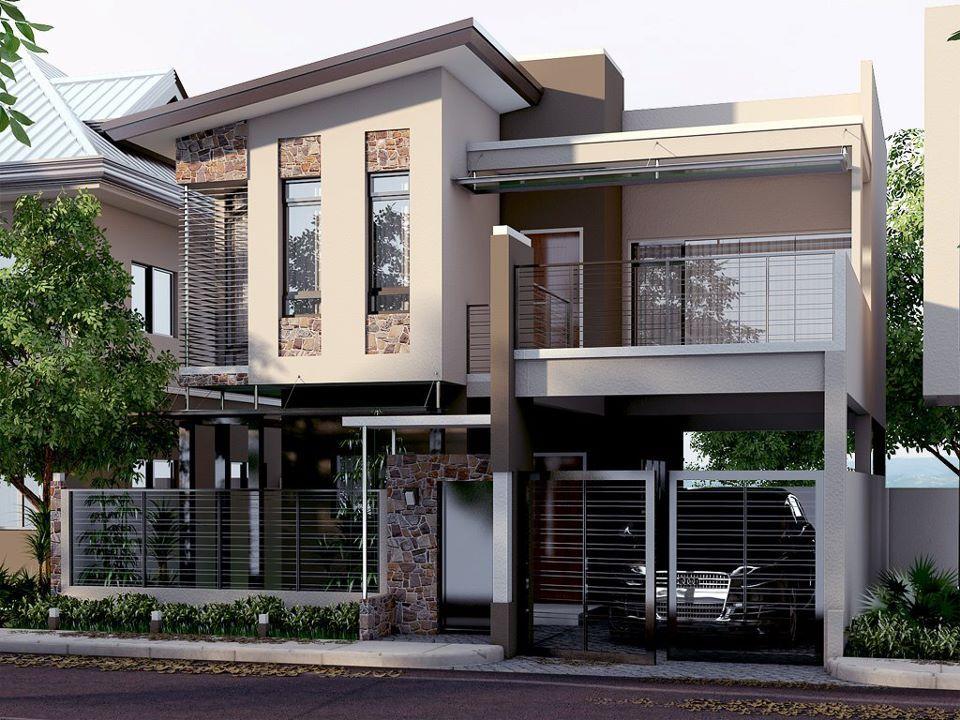 Modern House Exterior Ideas Modern Filipino House Modern House