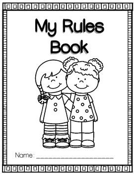 Classroom Rules Coloring Book And Posters Abc Pre K Ideas