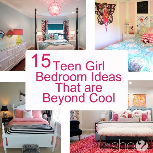 Teen Girl Bedroom Ideas - 15 Cool DIY Room Ideas For Teenage Girls ...