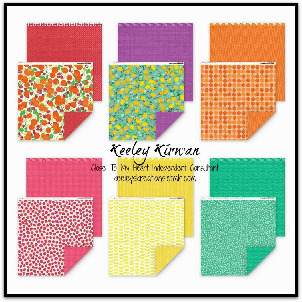 Keeley's Kreations: Close To My Heart's National Scrapbooking Month Campaign -- Taste of Summer