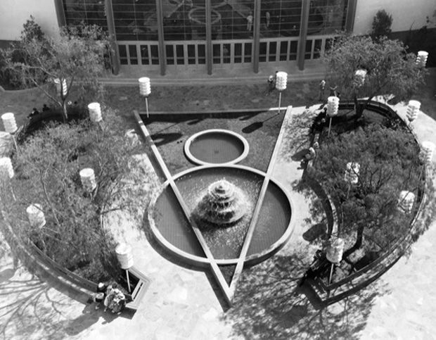 San Diego Ford >> V8 Fountain San Diego Ford Building Later Became The Air Space