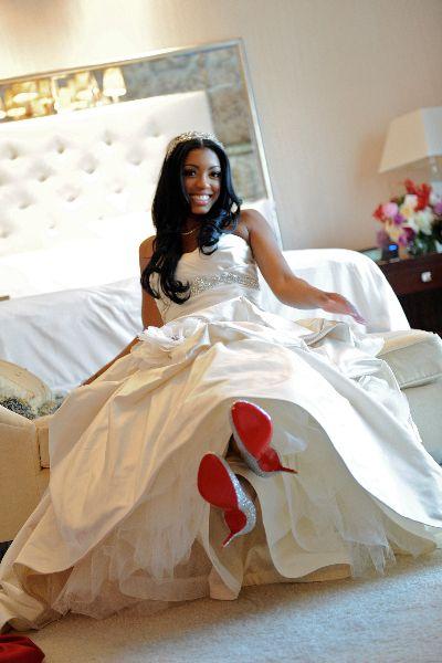 Kordell Porsha Stewart Tiffany Cook Events Atlanta Wedding Celebrity Weddings Wedding Dress Pictures