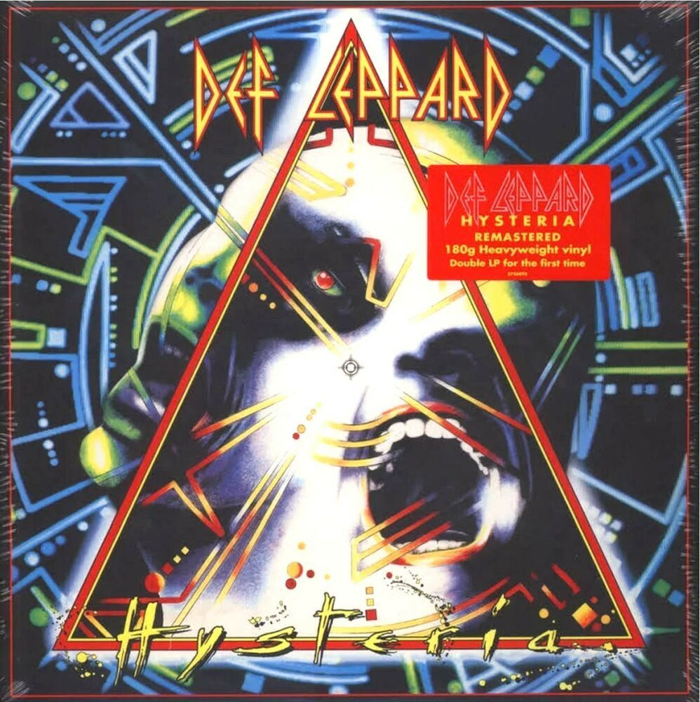 Def Leppard Hysteria Current Pressing 2lp Lp Vinyl Record Album New Sealed Ebay In 2020 Def Leppard Hysteria Vinyl Records Vinyl Record Album