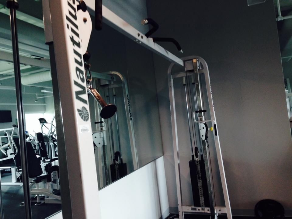 New gym (there was no old gym)
