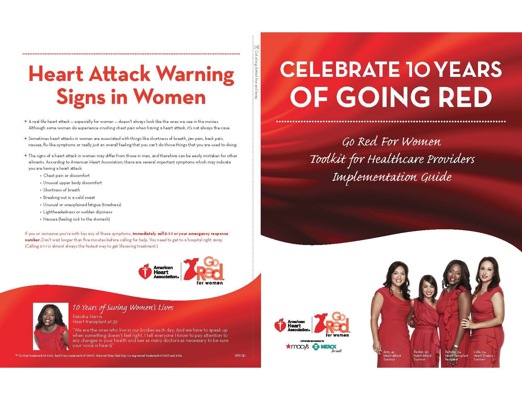 Go Red For Women Toolkit For Healthcare Providers