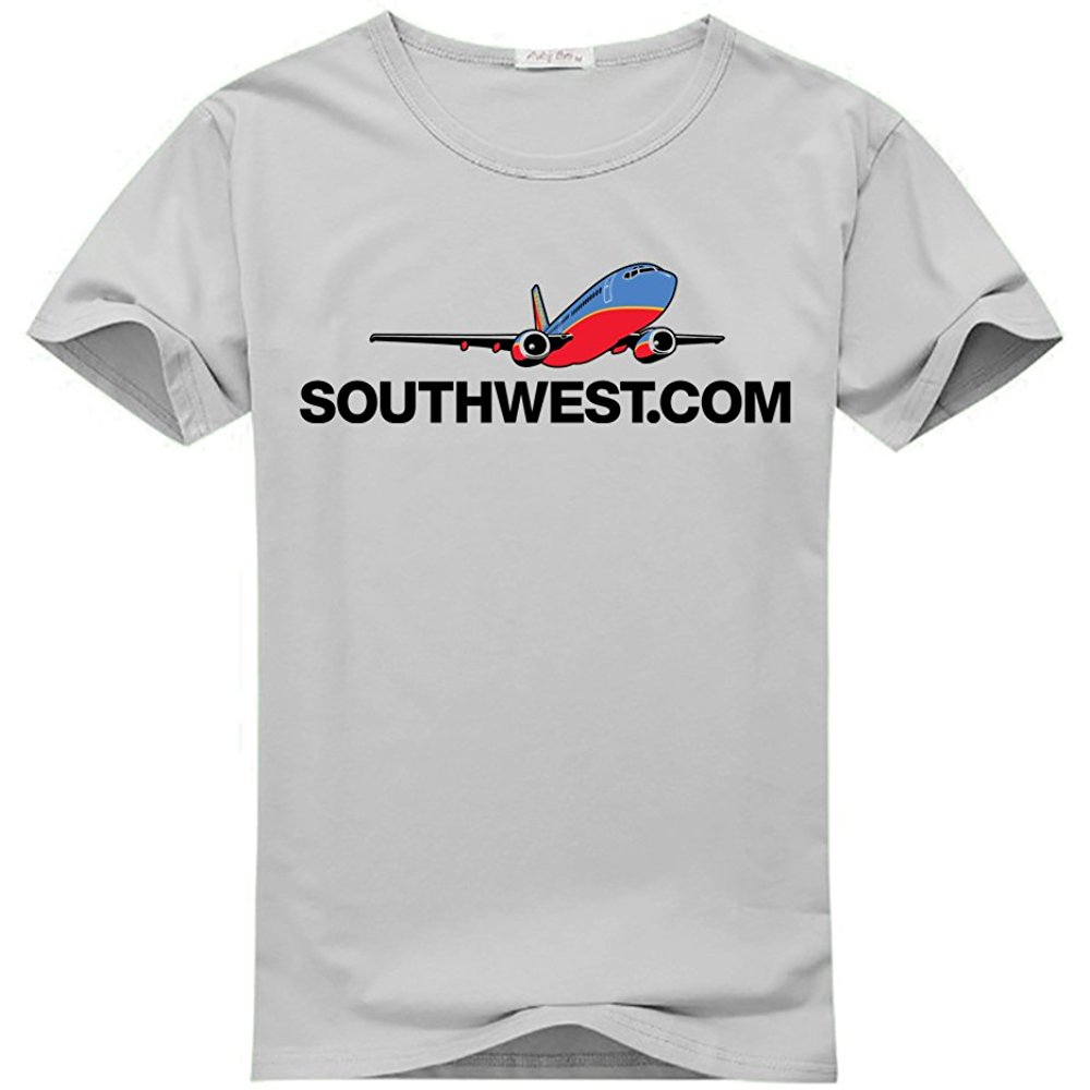 Southwest Airlines Logo Printed For Mens T shirt Tee in