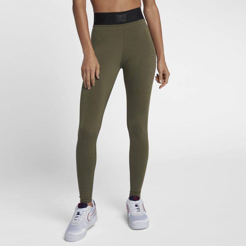 c46c39334f7be Nike Sportswear Leg-A-See Women's Logo Leggings - Green | Products ...