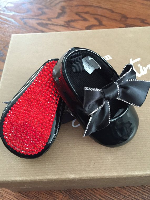 a187e27e455 Christian Louboutin Inspired RED BOTTOM Crystal by TheGlamBaby ...