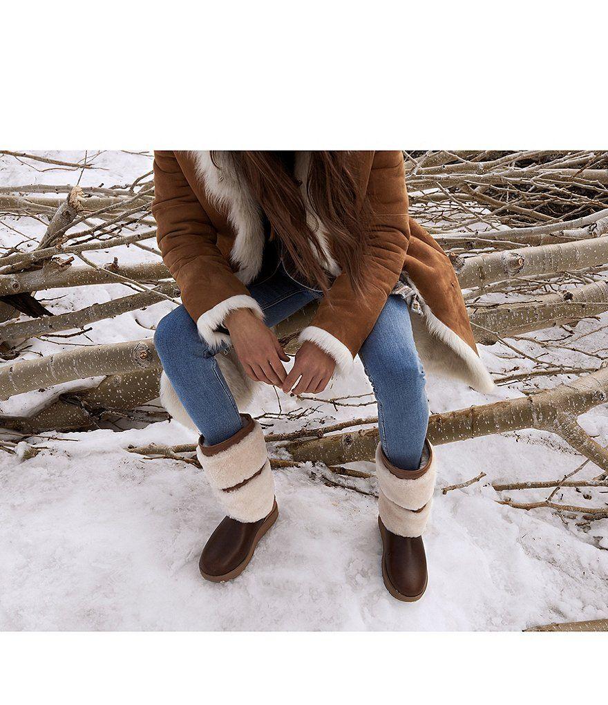 4a0a0853fce Chestnut:UGG® Reykir Waterproof Boots | Best Foot Forward ...