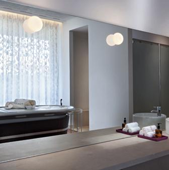 Flos designer light Mini Glo-ball, by Jasper Morrison | Bathroom ...