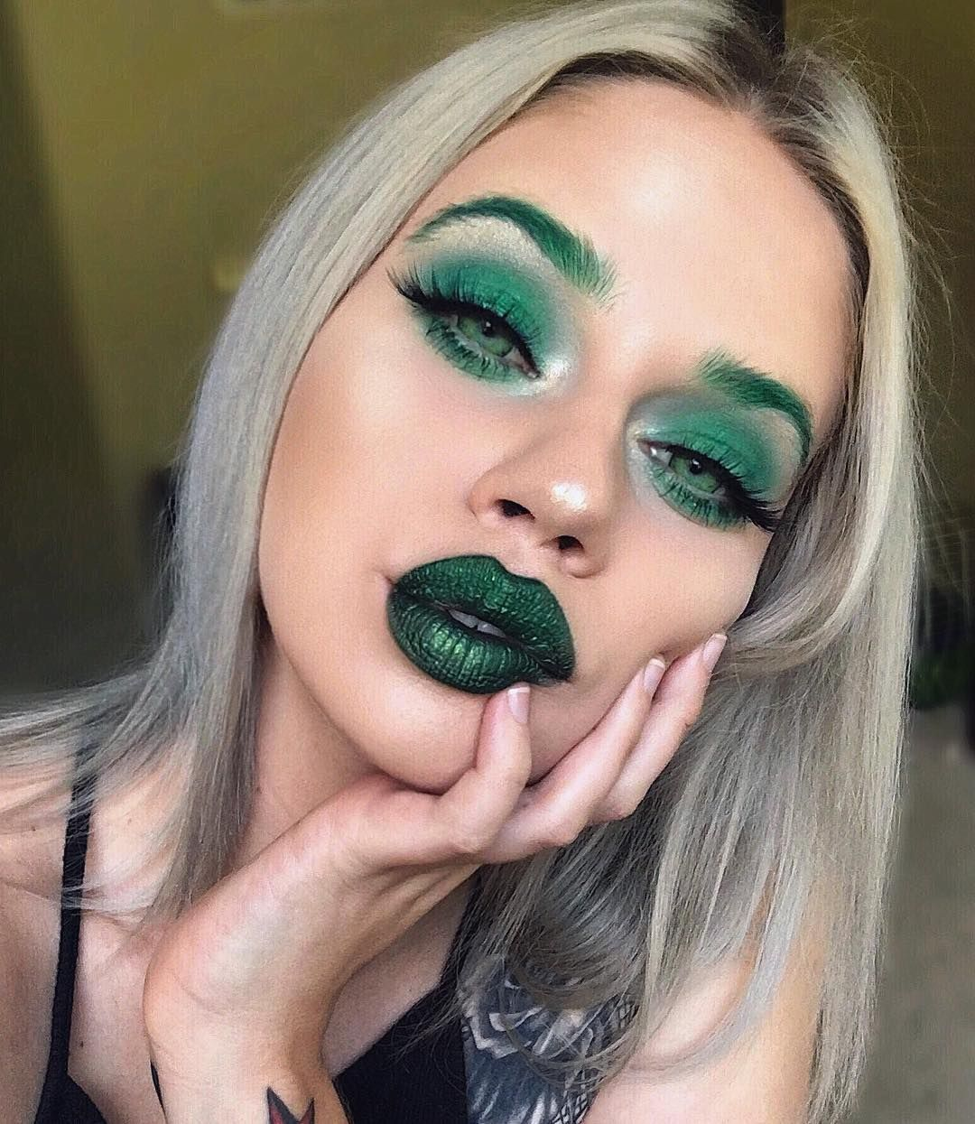 22 green makeup looks perfect for a fun st patricks day