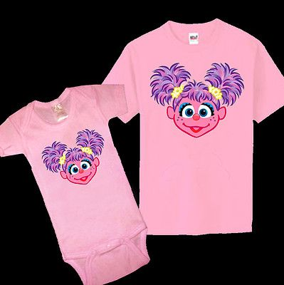 d5447b5d Mom costume-Sesame Street Abby Cadabby Baby One Piece Kid Youth Adult T  Shirt All Sizes | eBay