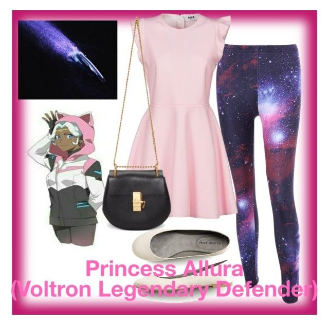 """Princess Allura"" by ironkyle ❤ liked on Polyvore featuring MSGM and Chloé"