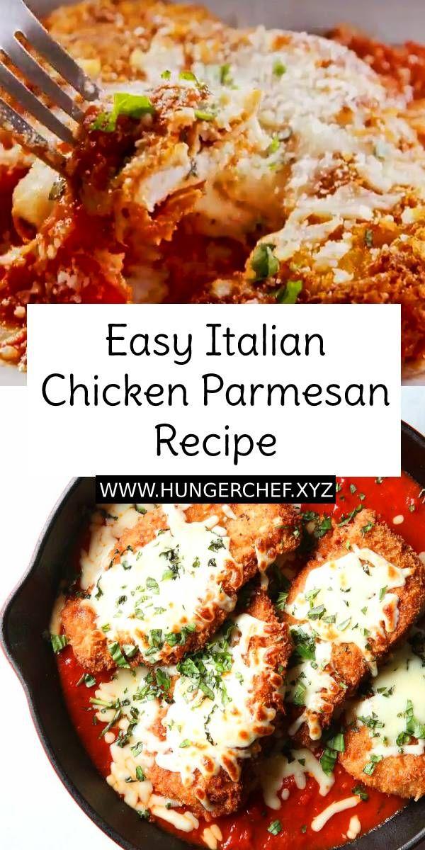 Easy Italian Chicken Parmesan Recipe