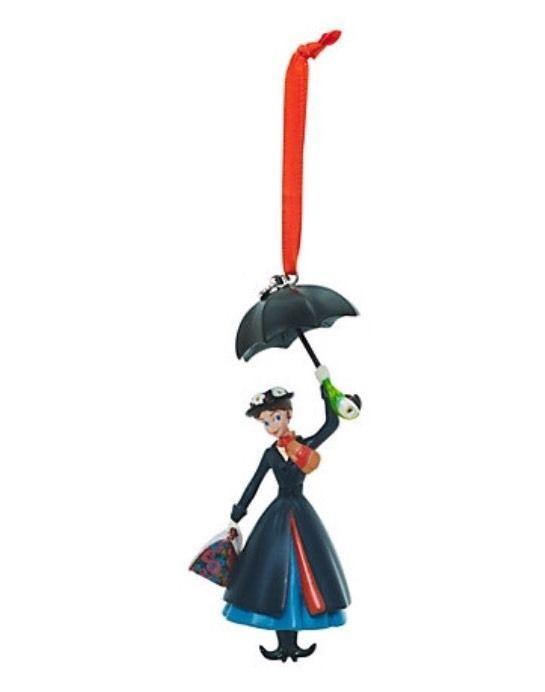 Disney Mary Poppins Christmas Decoration Ornament Sketchbook Umbrella    Collectables, Disneyana, Contemporary (1968 - Disney Mary Poppins Christmas Decoration Ornament Sketchbook