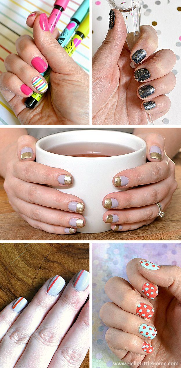 Diy Nail Art Tutorials Tons Of Fun Easy Techniques Learn How