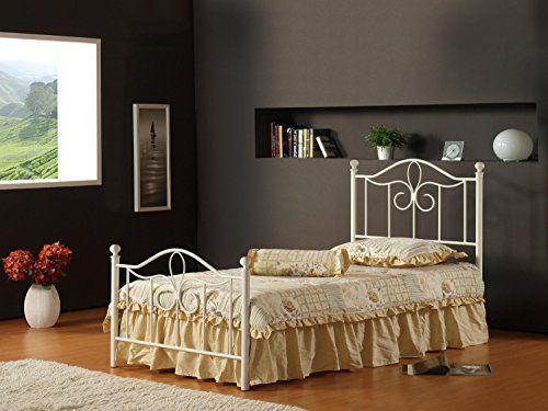 Hillsdale Furniture 1354BTWMR Westfield Metal Bed Set with Rails