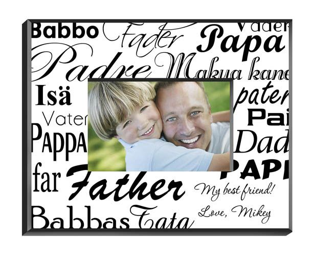 Dad in Translation Frame - Personalized - Personalization Included ...