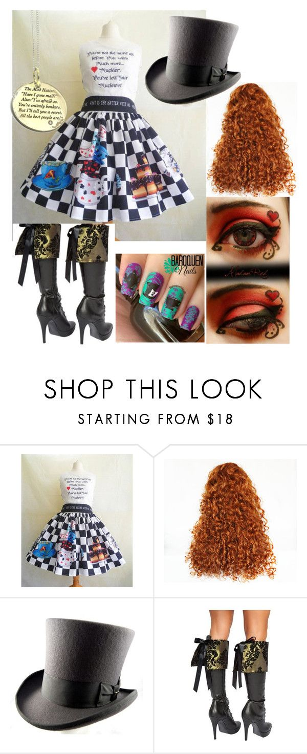 """the mad hatter"" by pickle818 ❤ liked on Polyvore featuring Roma and Amulette"